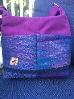 Hand woven purse