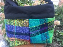 Woven handmade purse